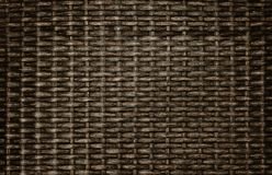 Closed up of wicker textured background. royalty free stock photos