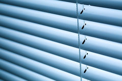 Closed Venetian Blinds or Shutters Stock Photo