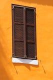 Closed window. Stock Photo