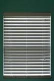 Closed window blinds Royalty Free Stock Image