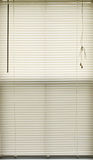 Closed window blinds Stock Photo