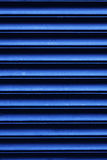 Closed window blinds at night Stock Images