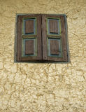 Closed window Stock Image