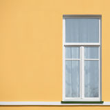Closed window. Royalty Free Stock Image