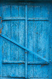 Closed window of an old house.  Royalty Free Stock Photography