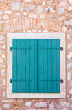 Closed window shutters Stock Photos