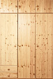 Closed Wooden cabinet Royalty Free Stock Photos