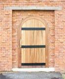 Closed Wooden Door. Stock Photography