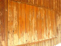 Closed wooden window for texture and background. Close up of closed wooden window for texture and background Royalty Free Stock Image