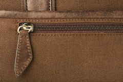 Closed Zipper Royalty Free Stock Photography