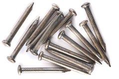 Closeip of Nails Royalty Free Stock Photos