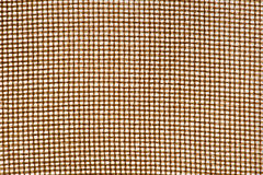 Closely woven jute textile Stock Photos