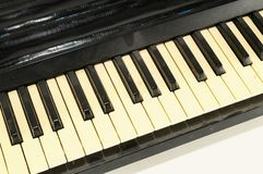 closen keys upp pianot Royaltyfria Foton