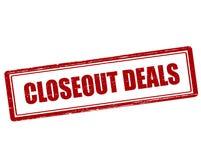 Closeout deals Stock Photos