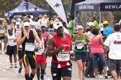 Closepup of Marathon Runners at Comrades Marathon Stock Photos