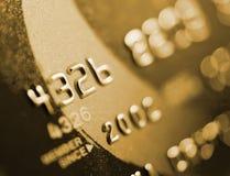 Closer look at credit Royalty Free Stock Photography