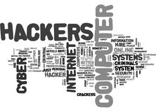 A Closer Look At Cyber Crooks Word Cloud. A CLOSER LOOK AT CYBER CROOKS TEXT WORD CLOUD CONCEPT stock illustration