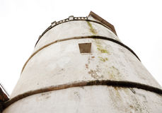 Closer look of the lighthouse of Aguada Fort Stock Images