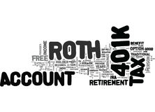A Closer Look At The Roth K Word Cloud. A CLOSER LOOK AT THE ROTH K TEXT WORD CLOUD CONCEPT royalty free illustration