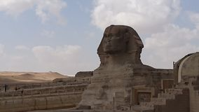 Half pyramid. Closer look to pyramid royalty free stock image