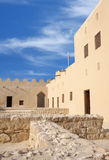 A closer look in the western part of Riffa Fort, Stock Image