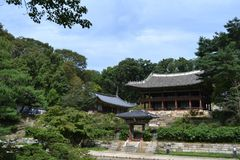 Closer to Seoul Eastern Palace Changdeokgung, a UNESCO world h Royalty Free Stock Image
