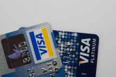 Closer Up Credit card stock photos