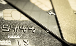 Closer Up Credit card Stock Photo