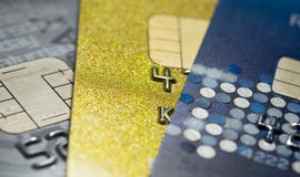 Closer Up Credit card Stock Photography