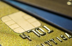 Closer Up Credit card Royalty Free Stock Photos