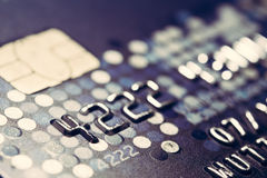Closer Up Credit card Stock Images