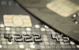 Closer Up Credit card Royalty Free Stock Photography