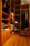 Closet. Natural modern closet in the flat royalty free stock photography