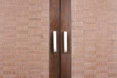 Closet door Stock Image