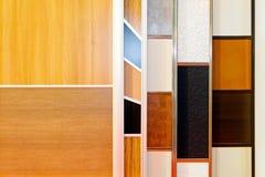 Closet door samples Stock Photo