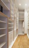 Closet interior Stock Photo