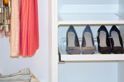 Closet royalty free stock photography