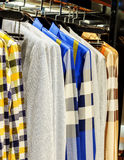 Closet shirt Royalty Free Stock Photo