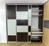 Closet with sliding doors Stock Image