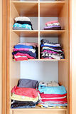Closet - wardrobe, clothes Royalty Free Stock Images