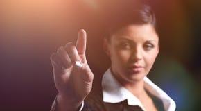 closeup γυναίκα τεντώματος χειραψιών επιχειρησιακών χεριών Στοκ Εικόνες