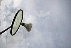 Closeup Abstract Badminton Sport stock image