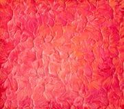 Closeup acrylic paint Stock Photography