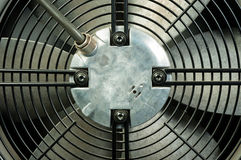 Closeup of an air conditioner Royalty Free Stock Photography