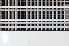 Closeup of air conditioner vents grille with copyspace royalty free stock photos