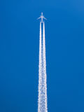 Contrail Royalty Free Stock Images