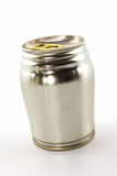 Closeup aluminum tin can. Stock Photography