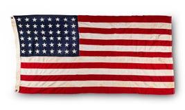 Closeup of American flag Stock Photos