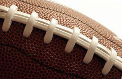 Closeup Of An American Football Royalty Free Stock Photography