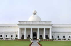 Closeup of ancient administrative building of IIT Roorkee Royalty Free Stock Images